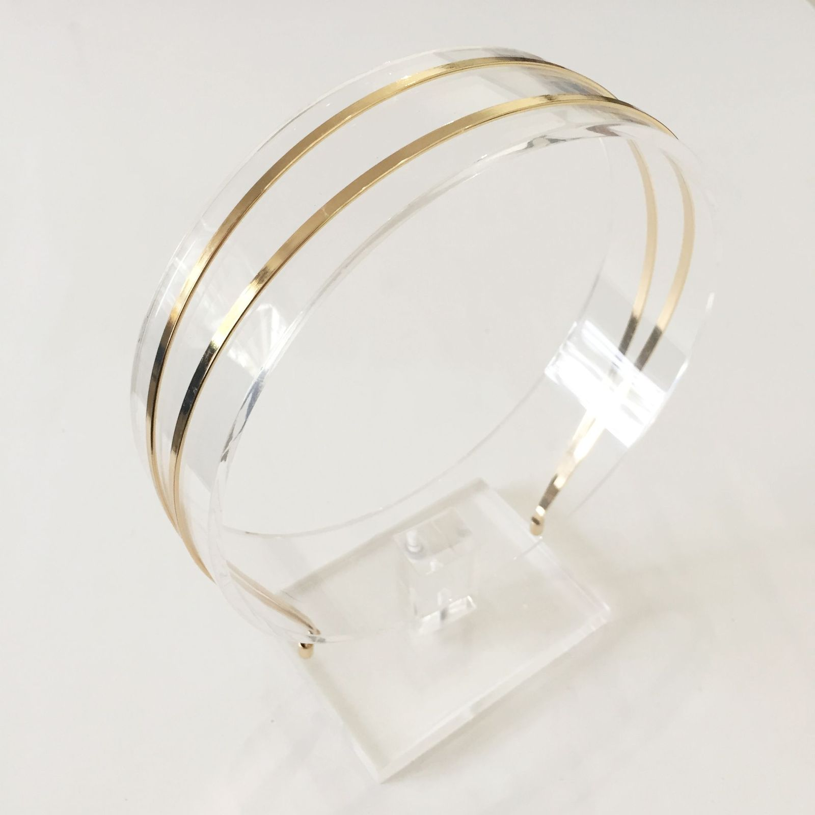 Headband Metal Double - Gold 8e936944cda