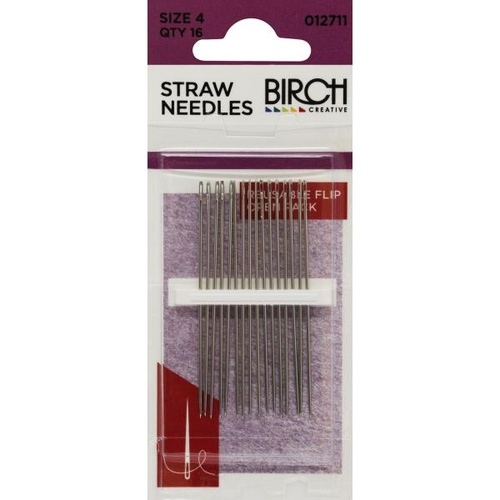 Sewing Needles/Straw - Size 4