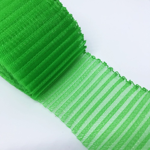 "3"" Pleated Crinoline - Lime (354)"