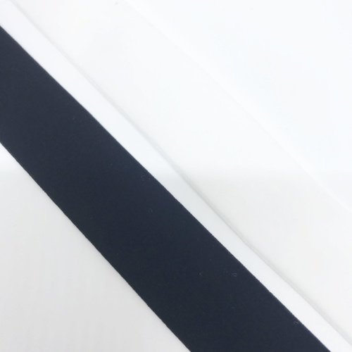 Velvet Ribbon/Stretch 25mm (01) White