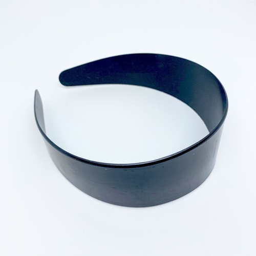 Headband/Plastic/48mm - Black