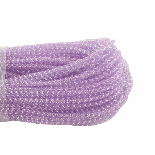 Tubular/with Lurex - Lilac/Silver