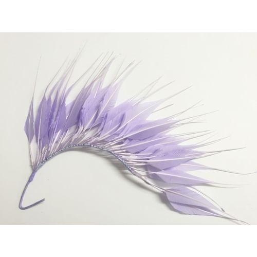 Feather Mount/Style 1 - Lilac