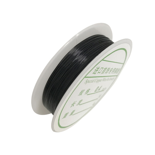 Jewellery Wire/26 Gauge/0.4mm - Black