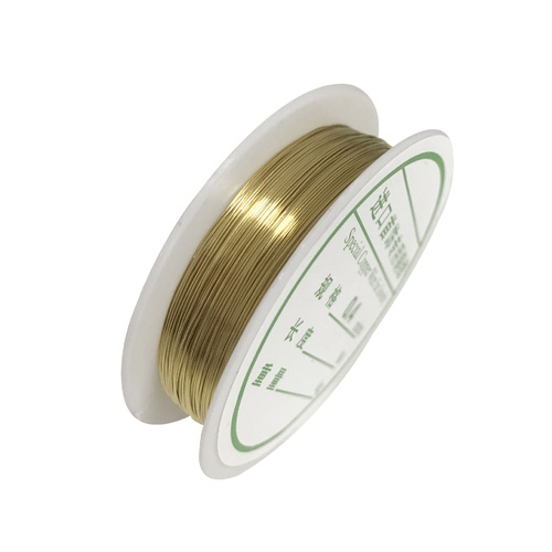 Jewellery Wire/26 Gauge/0.4mm - Gold