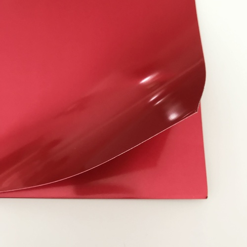 Metal Foil Sheet - Red