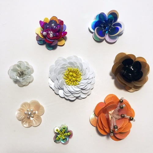 Beaded Flower/Assorted