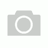Faux Leather Rose - Blue