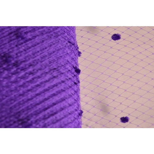 "9"" Netting Spots - Purple"