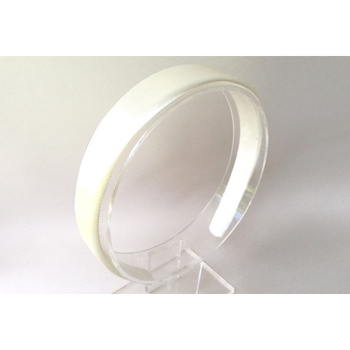 Headband Satin Large - Ivory