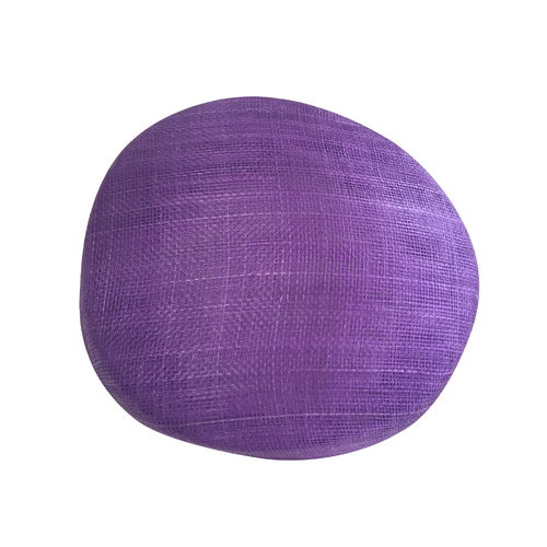 Sinamay Base/Pillbox - Purple (052)