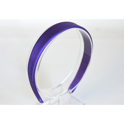 Headband Satin Large - Purple