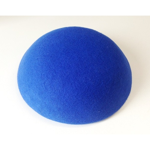 Wool Felt/Large Button - Royal Blue