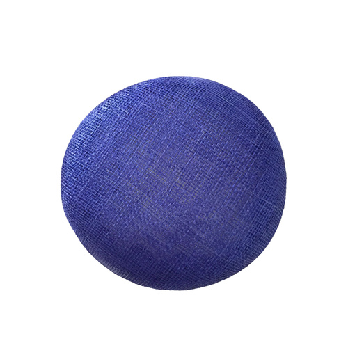 Sinamay Button - Royal Blue (055)