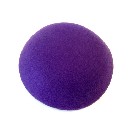 Wool Felt/Large Button - Purple