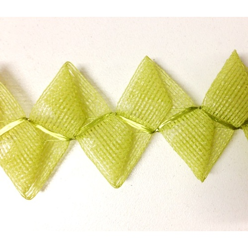 Vintage Butterfly Braid - Lime