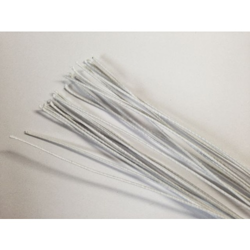 Cloth Wire/22 Gauge - White