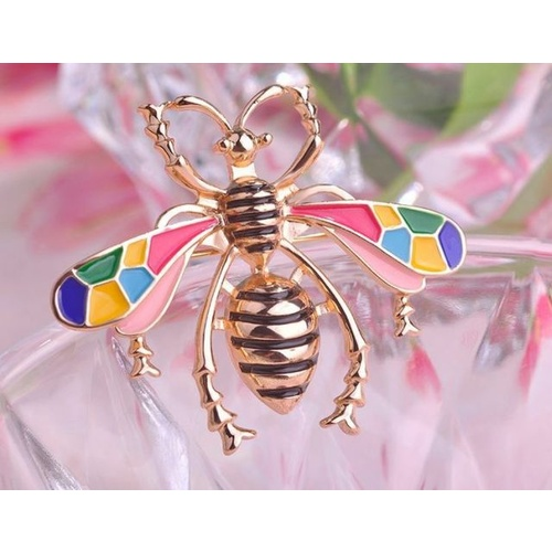 Brooch Bee - Multi