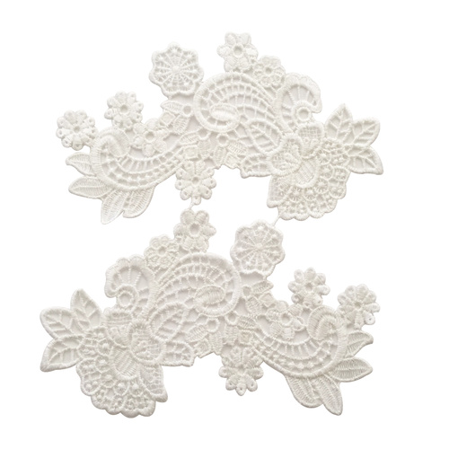 Guipure Lace Motif 19 - Off White