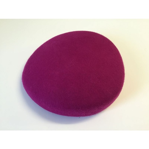 Wool Felt/Pillbox - Magenta
