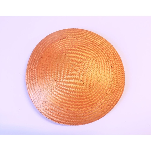 Buntal Button Base - Tangerine