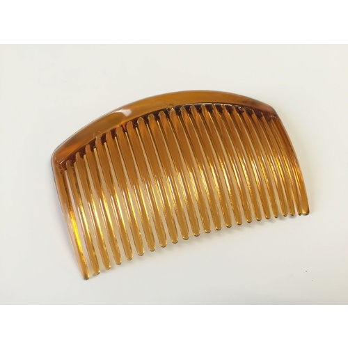 Comb/Plastic/23 Teeth - Brown