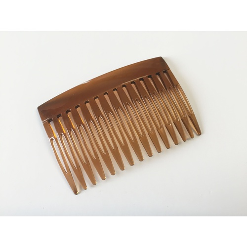 Comb/Plastic/15 Teeth - D.Brown