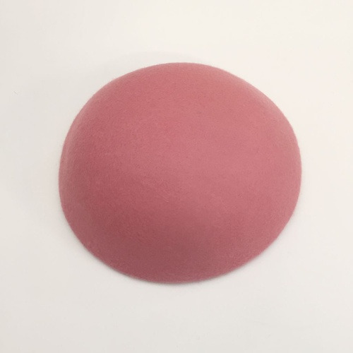 Wool Felt/Large Button - Pink
