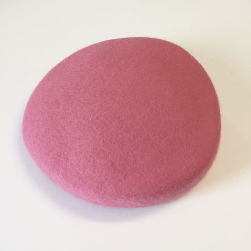 Wool Felt/Pillbox - Pink