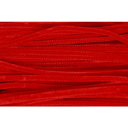 Chenille - Red